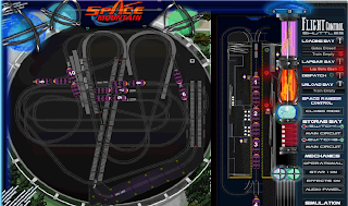 Ride Sims - Space Mountain Simulation