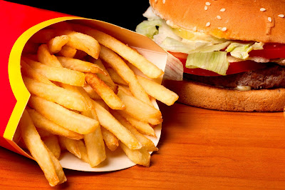 Fast food accounts for 11% of the American diet