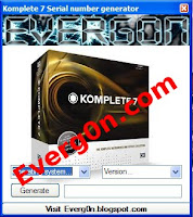 Komplete 7 serial number keygen