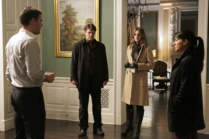 Castle - Episode 7.13 - I, Witness - Promotional Photos