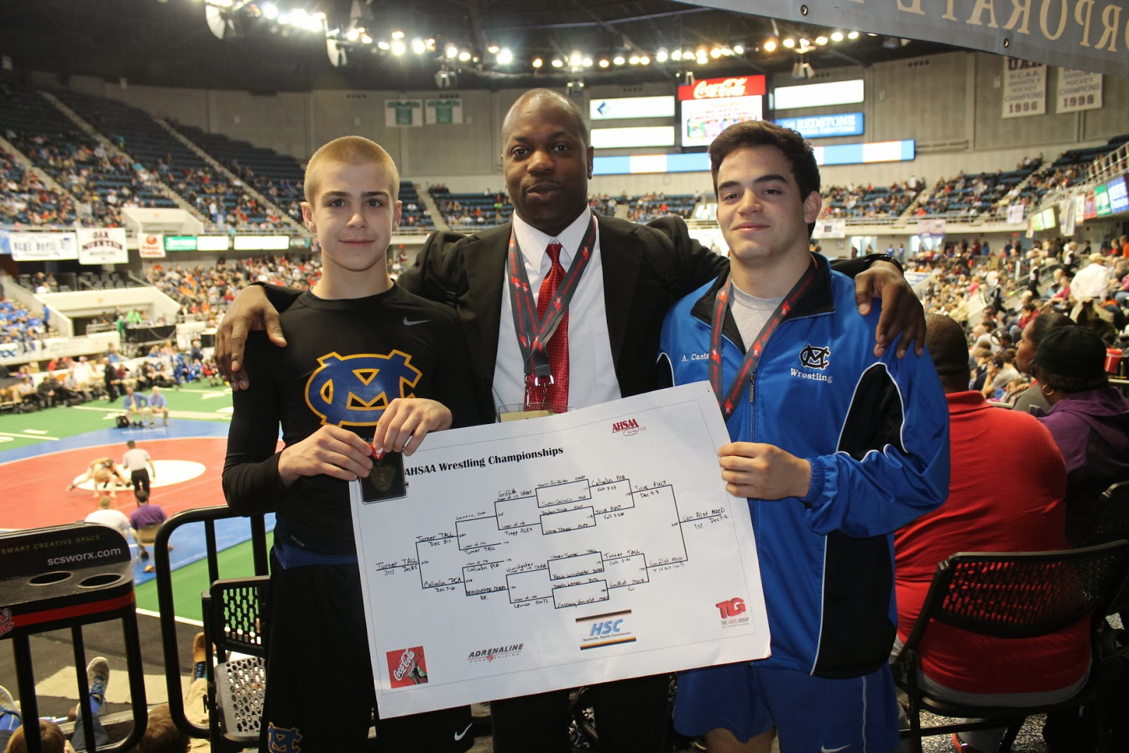 Van Alst Claims Third Consecutive Wrestling State Championship 1