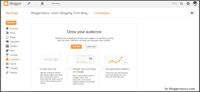 blogger-starter-guide-dashboard-step-by-step-introduction-campaigns