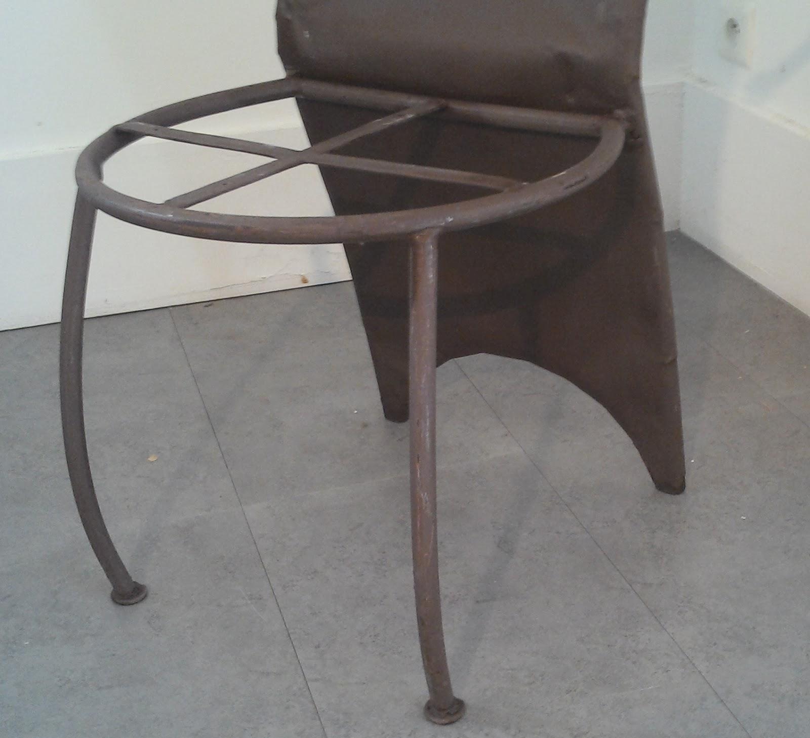 Ancien Fauteuil Fer Forg Design Xxeme Jardin Salon