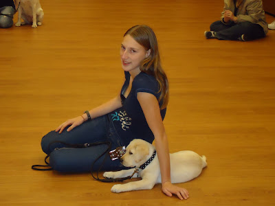 Picture of Brandon & I sitting on the ground together; one of the first pictures of my sweet puppy and I! (never really got a chance for us to be together in a picture - while looking at the camera!)