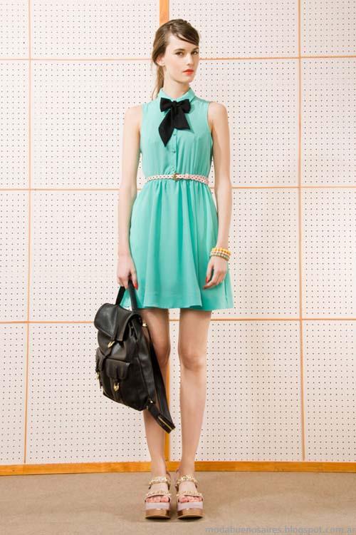 Vestidos 2014 moda verano 2014 marcas Lss Pepas.