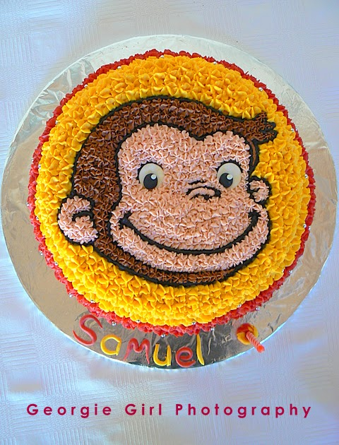 Curious George Cake Pan Mold