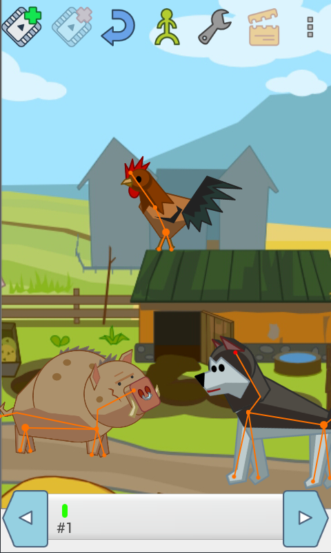 Membuat animasi mudah dengan Drawing Cartoons www.imron22.com