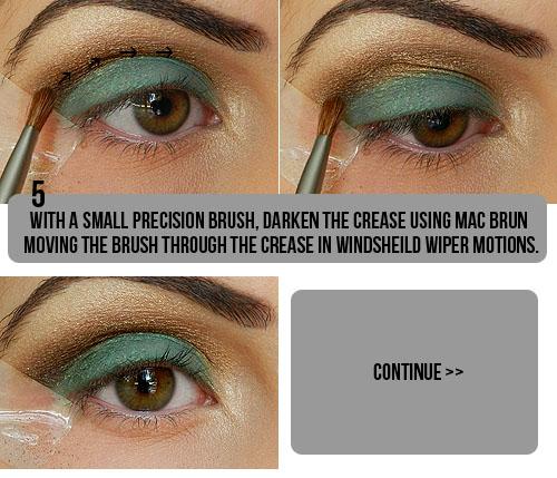 Tutorial de maquiagem olho castanho 4