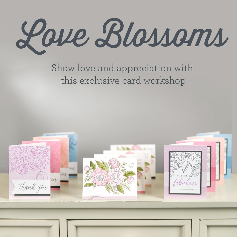 CTMH Love Blossoms Card Workshop