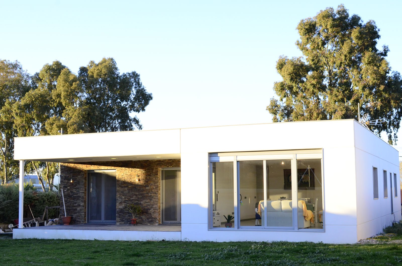 Casas de dise o prefabricadas en hormig n placa alveolar c ceres prefabricados hormig n - Casas modulares modernas precios ...