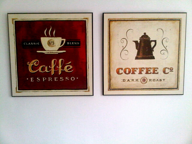 flohmarktfee k chenbilder motiv kaffee. Black Bedroom Furniture Sets. Home Design Ideas