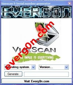 Vuescan 9 serial number keygen.