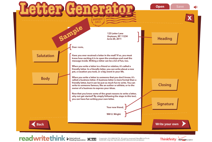 Example Of Business Letter And Their Parts - 7 business letter ...