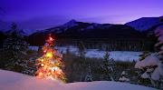 desktop christmas landscape pictures