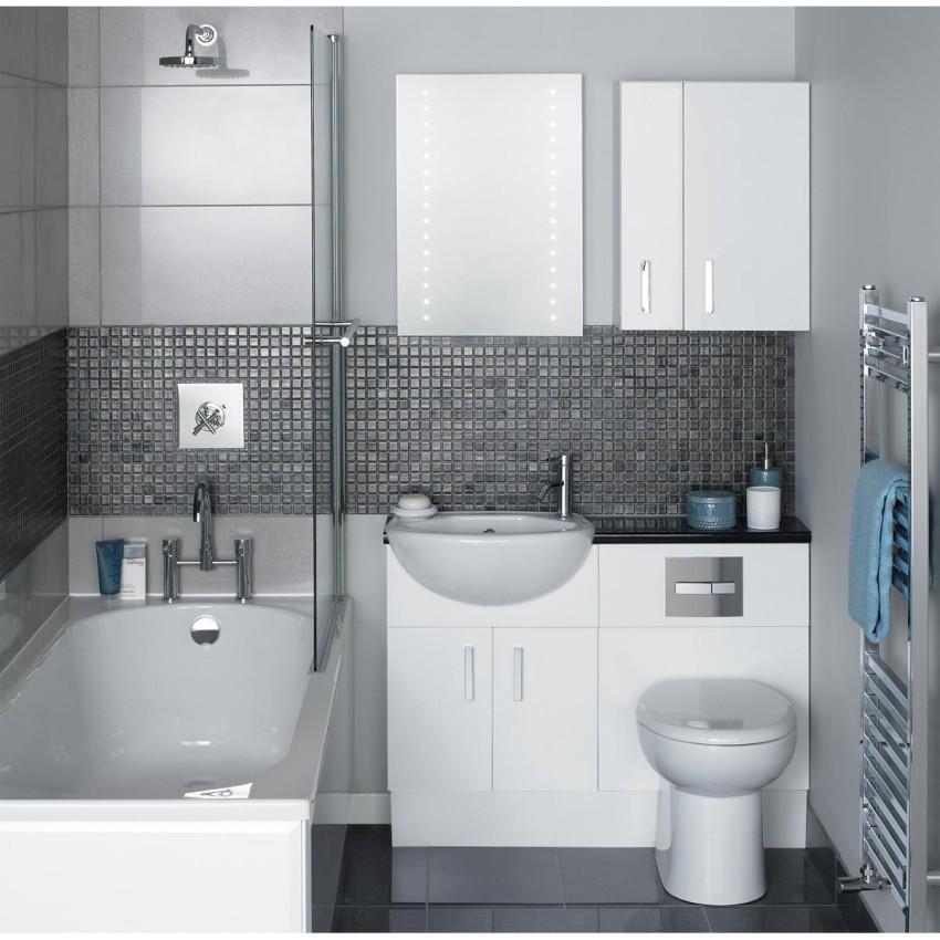 Дизайна маленькой ванной комнаты