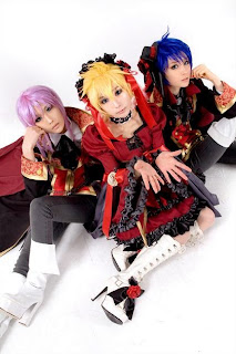 Vocaloid Fate Rebirth Len-Kaito-Gakupo cosplay by Tasha-Ren-Ricu