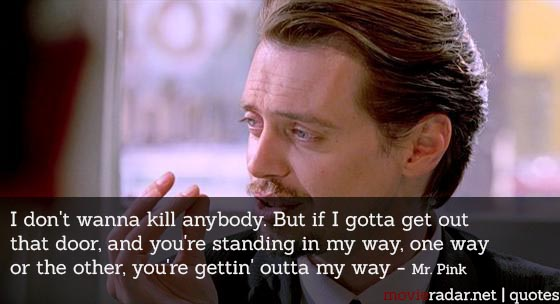 Some funny and badass Reservoir Dogs quotes