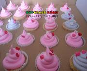 Cupcakes de Marshmellow da Gatinha Marie