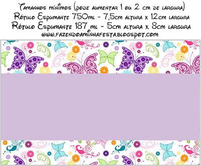 Mariposas etiquetas para imprimir gratis segunda parte ideas y material gratis para fiestas - Etiquetas comunion para imprimir en casa gratis ...