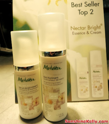 Melvita Nectar Bright Essence & Cream, Melvita Top 10 Best Sellers, Organic skincare, organic beauty care, Melvita