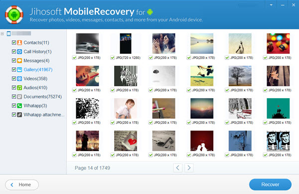 Jihosoft android recovery registration key and email