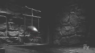 TV show - The Bastard Excutioner - skull crusher - medieval torture