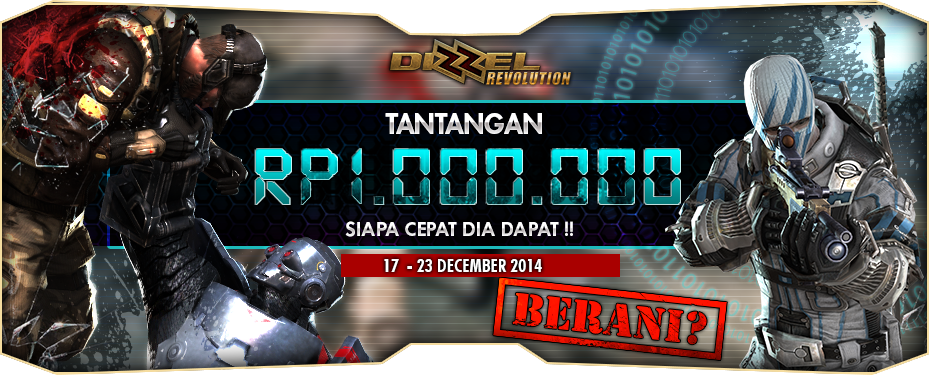 Daftar Pemenang Event Dizzel Revolution Gemscool Tantangan Warnet 1 Juta