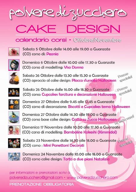 Corsi di cake design, calendario autunnale: decorazione ...