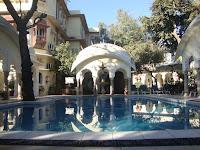 Jaipur visit in 1 day : Alsisar Haveli Pool