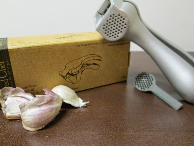 pampered chef garlic press giveaway