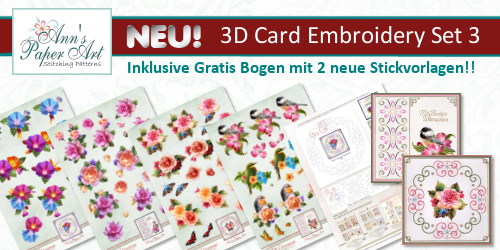 New 3D Card Embroidery Set 3