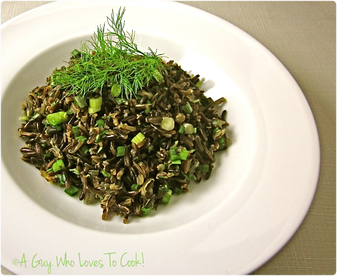 Lemon Tarragon Wild Rice
