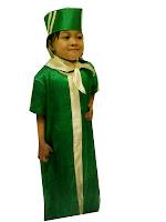 kostum profesi pramugari anak