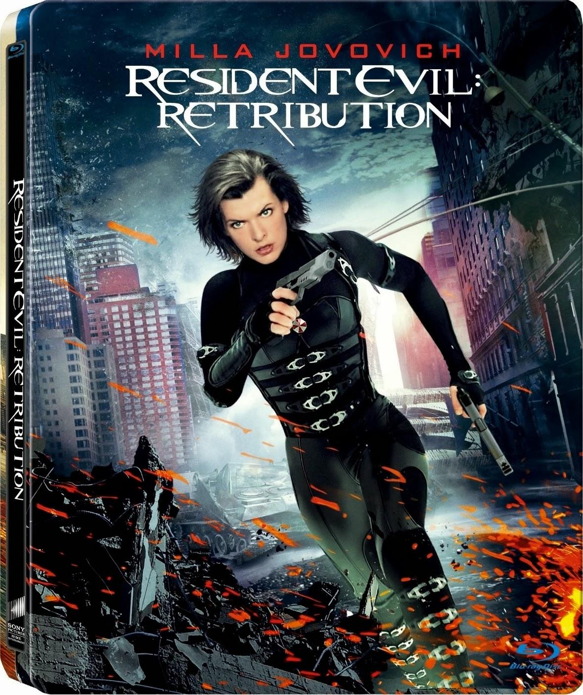 James Free World: Resident Evil 5 : Retribution (2012) BRRip 720p Dual ...