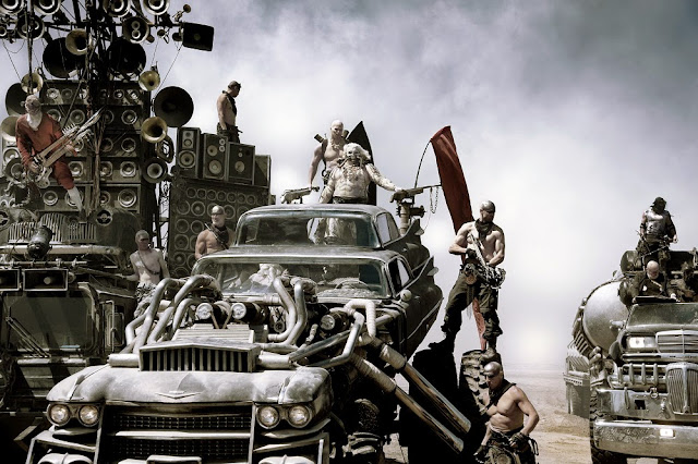 Immortan Joe Mad Max 4 Fury Road still