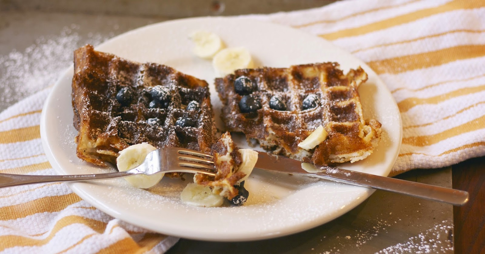 Waffles and Cream: simplelivingeating.com