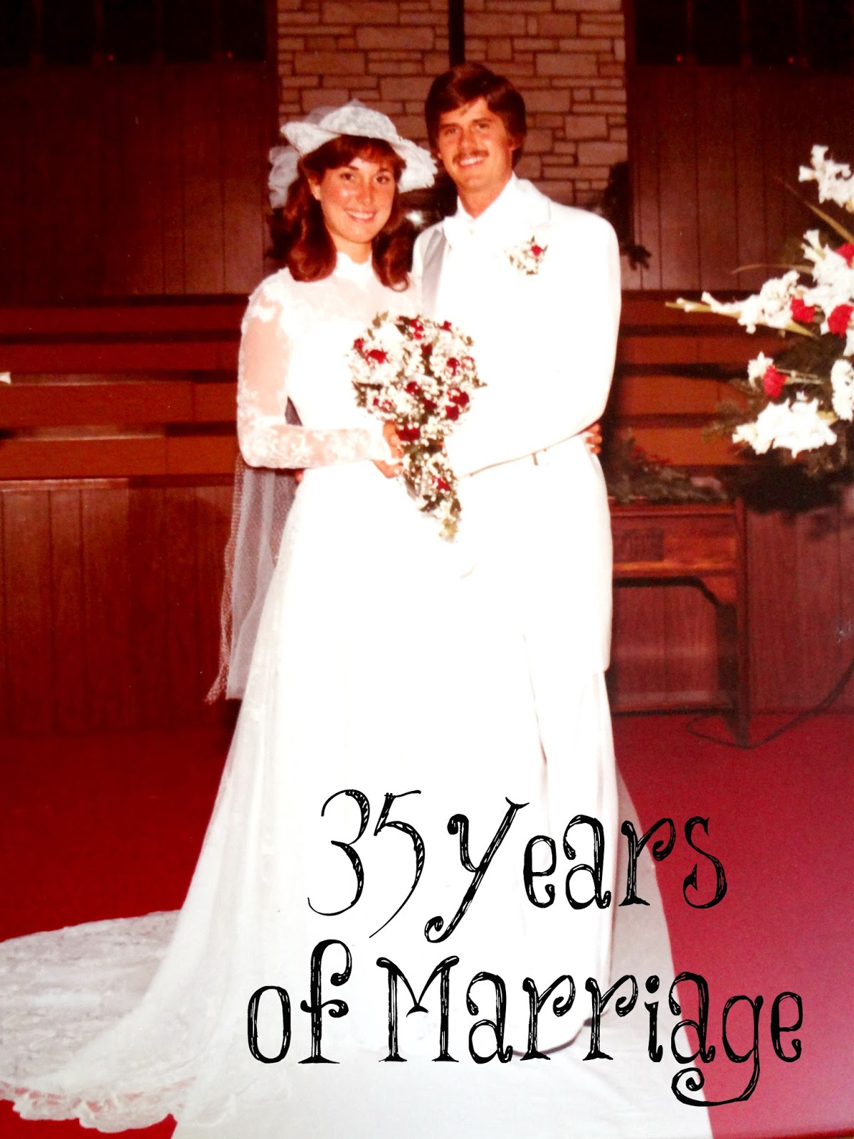 what do you get for 35 years of marriage
