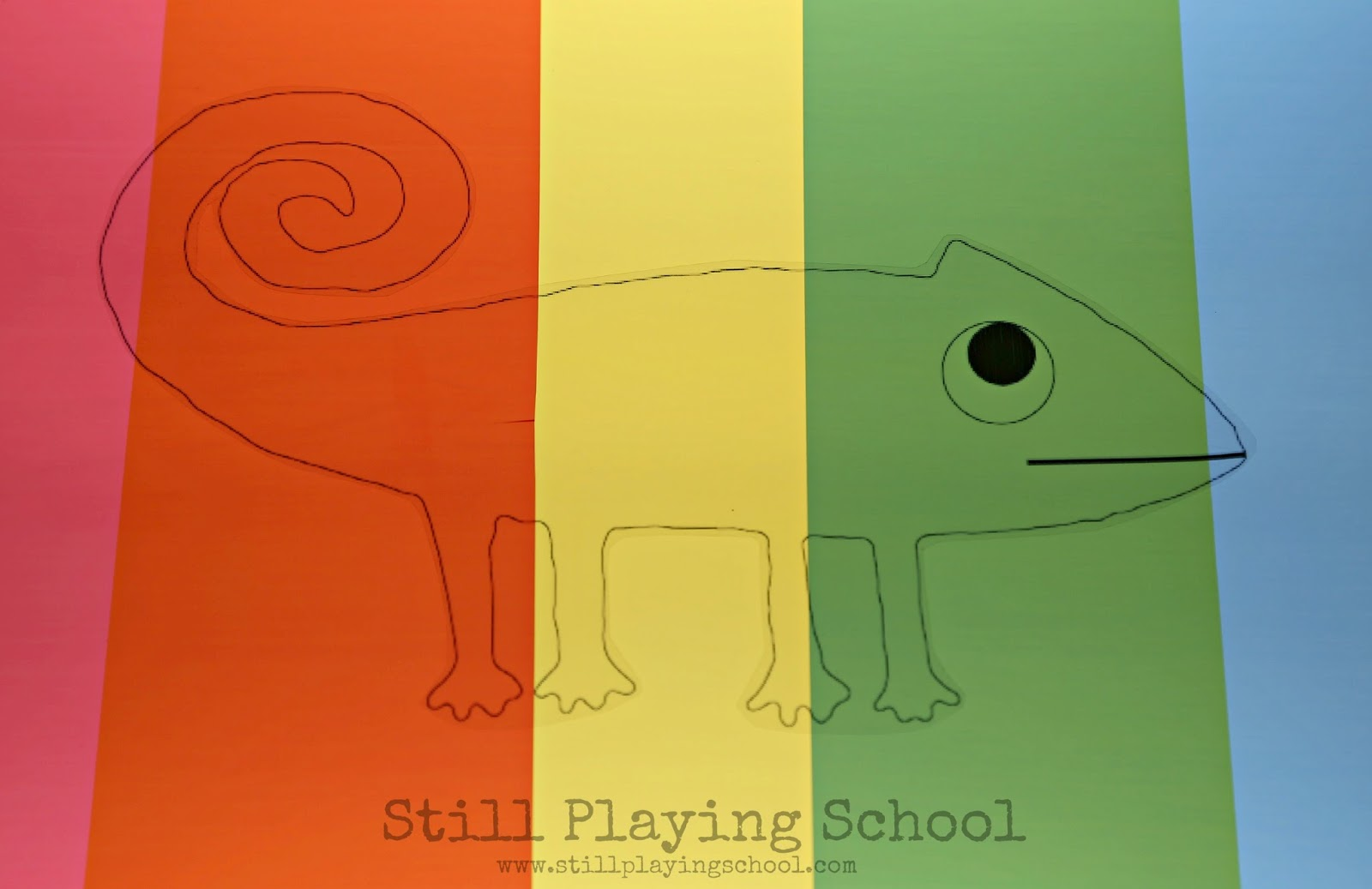 Chameleon Color Changing Activity for A Color of His Own | Still ...