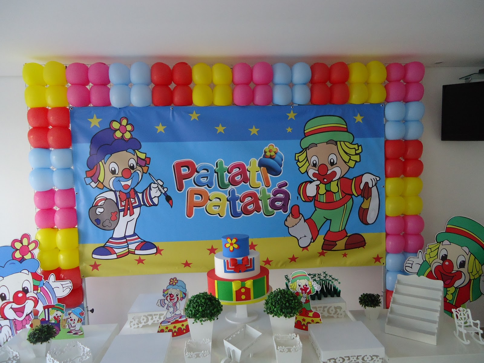 Decora    O Clean Patati Patat     Banner Novo S   Personagens E