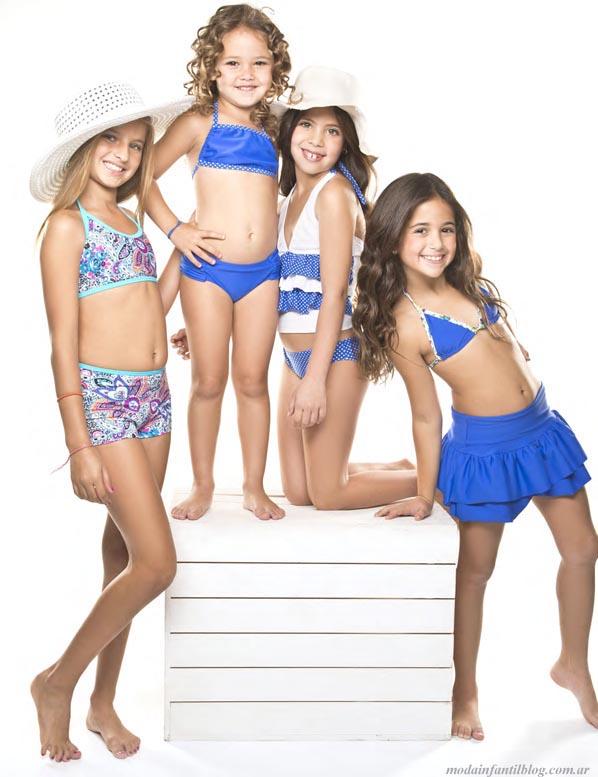 mallas y bikinis para niñas verano 2014