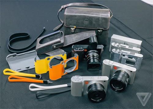 Máy ảnh Leica T không gương lật cao cấp ra mắt