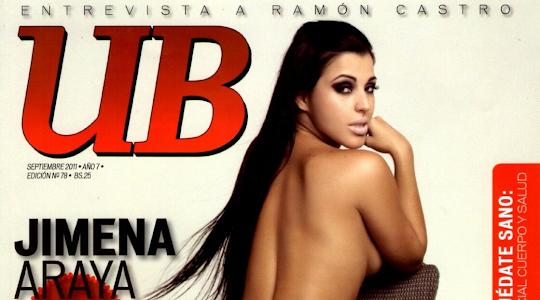 Jimena Araya Revista Urbe Bikini