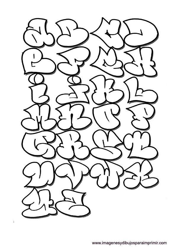Dibujos De Letras Graffiti