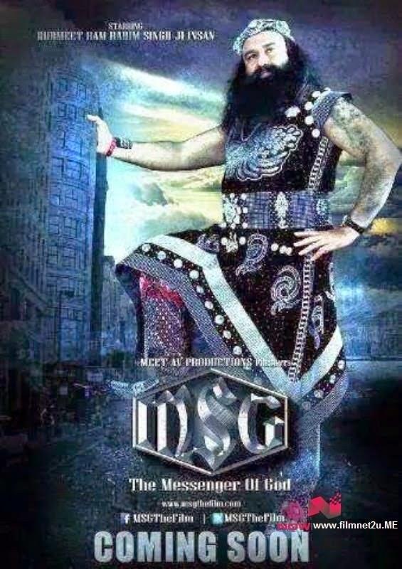 MSG the Messenger of God (2015) Hindi Full Movie Watch Online Free - Filmnet2u