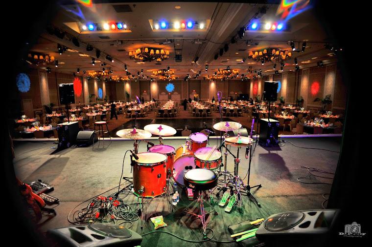 Drum Still Life overlook the Dining Hall