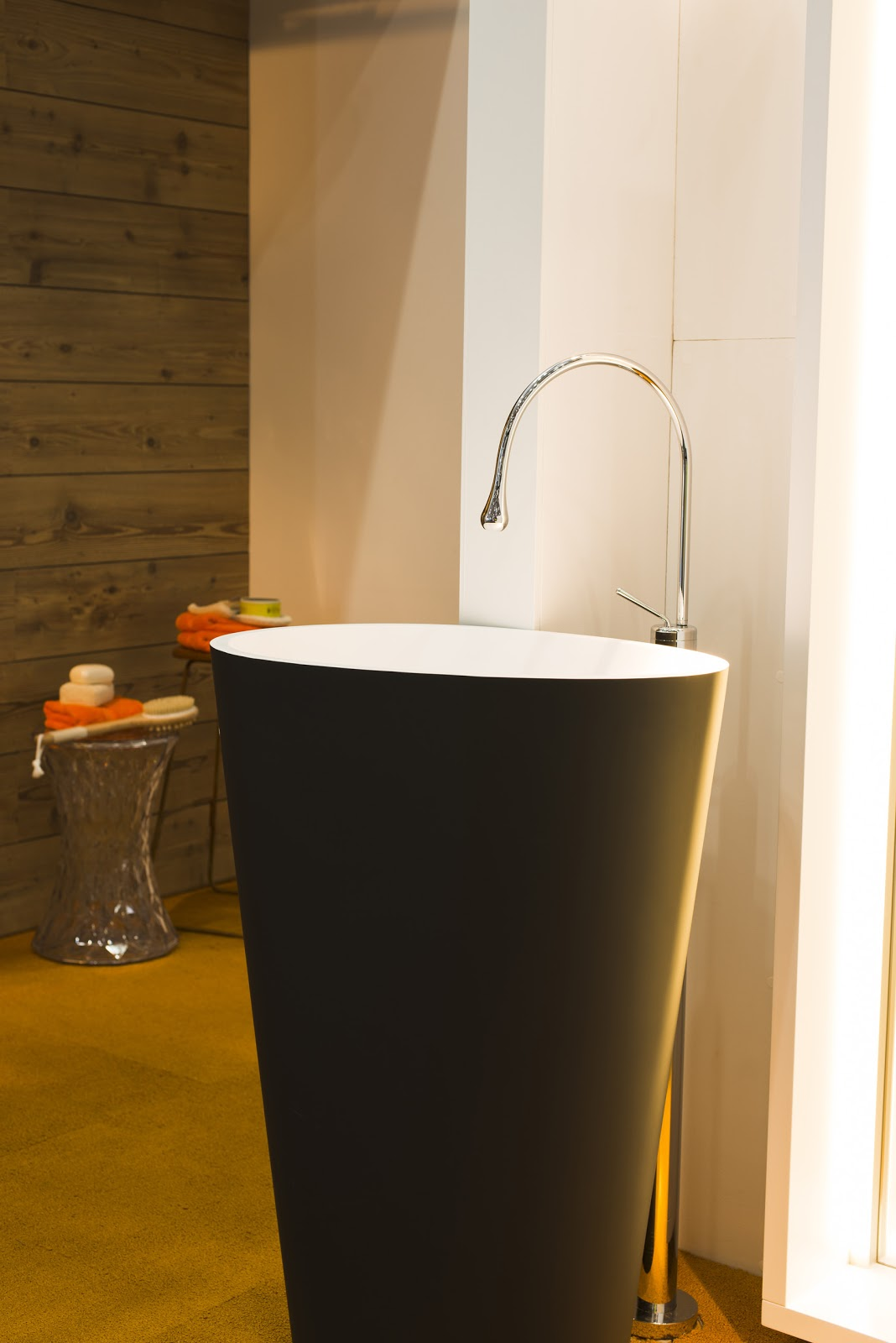 Minosa new minosa bathroom design resort style ensuite - Personal Vanity Overtakes The Bathroom Vanity As We Know It This Sophisticated Design Concept Includes The Use Of Oversized Mirrors And Led Lights