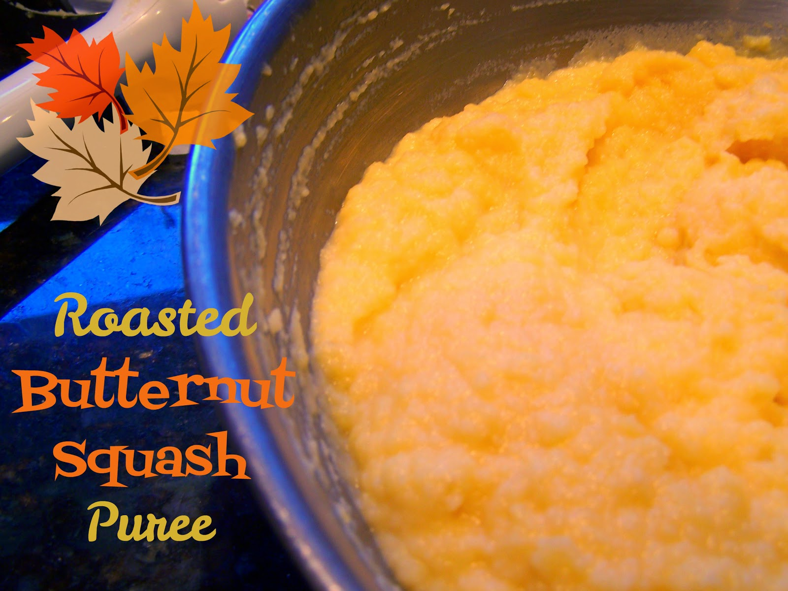 ... Ahead... Take A Bite!: Roasted Butternut Squash Puree (Holiday Sides