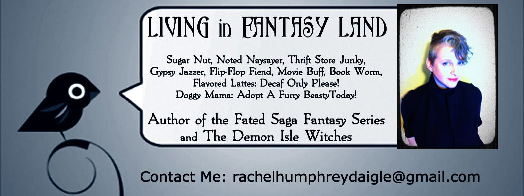 Living in Fantasy Land with Author Rachel Humphrey - D&#39;aigle