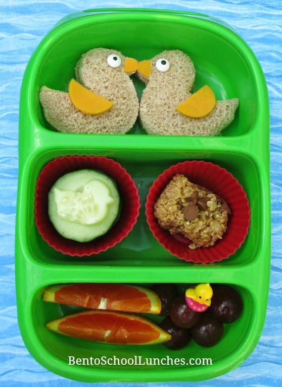 Duck kids school lunch, Goodbyn bynto