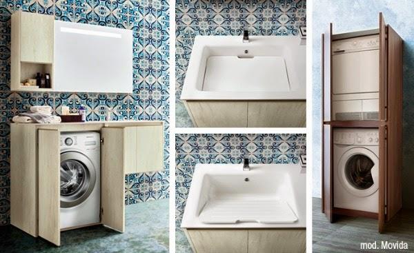 consigli per la casa e l' arredamento: mobile copri lavatrice ... - Arredo Bagno Lavatrice